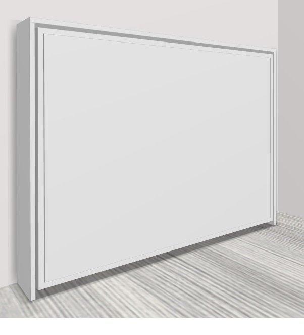 armoire lit transversale athena couchage 160 200cm. Black Bedroom Furniture Sets. Home Design Ideas