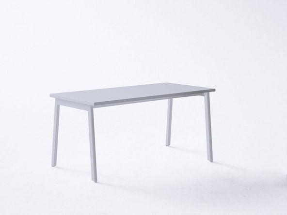 Gautier bureau avec retour u too chÊne blanc dimensions : l150 x