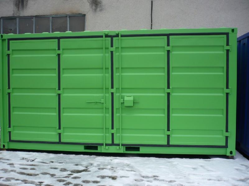 Boxinnov produits containers maritimes ouverture laterale for Container bois occasion