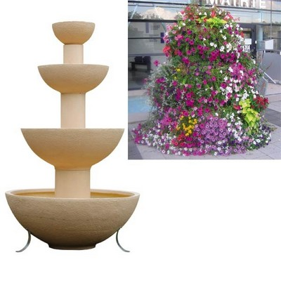 Sedi equipement produits bacs a fleurs et jardinieres for Vasque pot de fleur