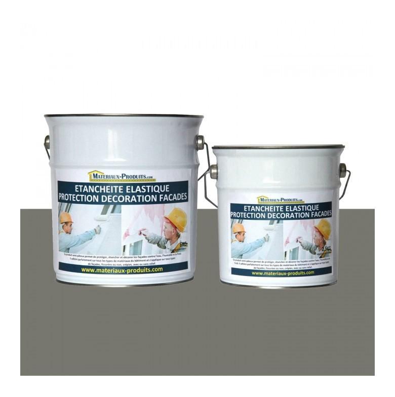 Peinture Etanche Elastique Pour Protection Façade Taupe 6 Kg