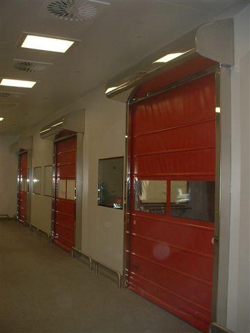 Portes souples battantes tous les fournisseurs porte for Porte a enroulement