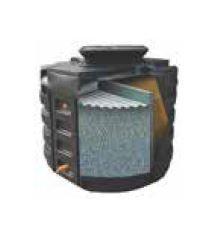 Filtre compact biofrance® roto passive - mono cuve pe rotomoulé 7 eh