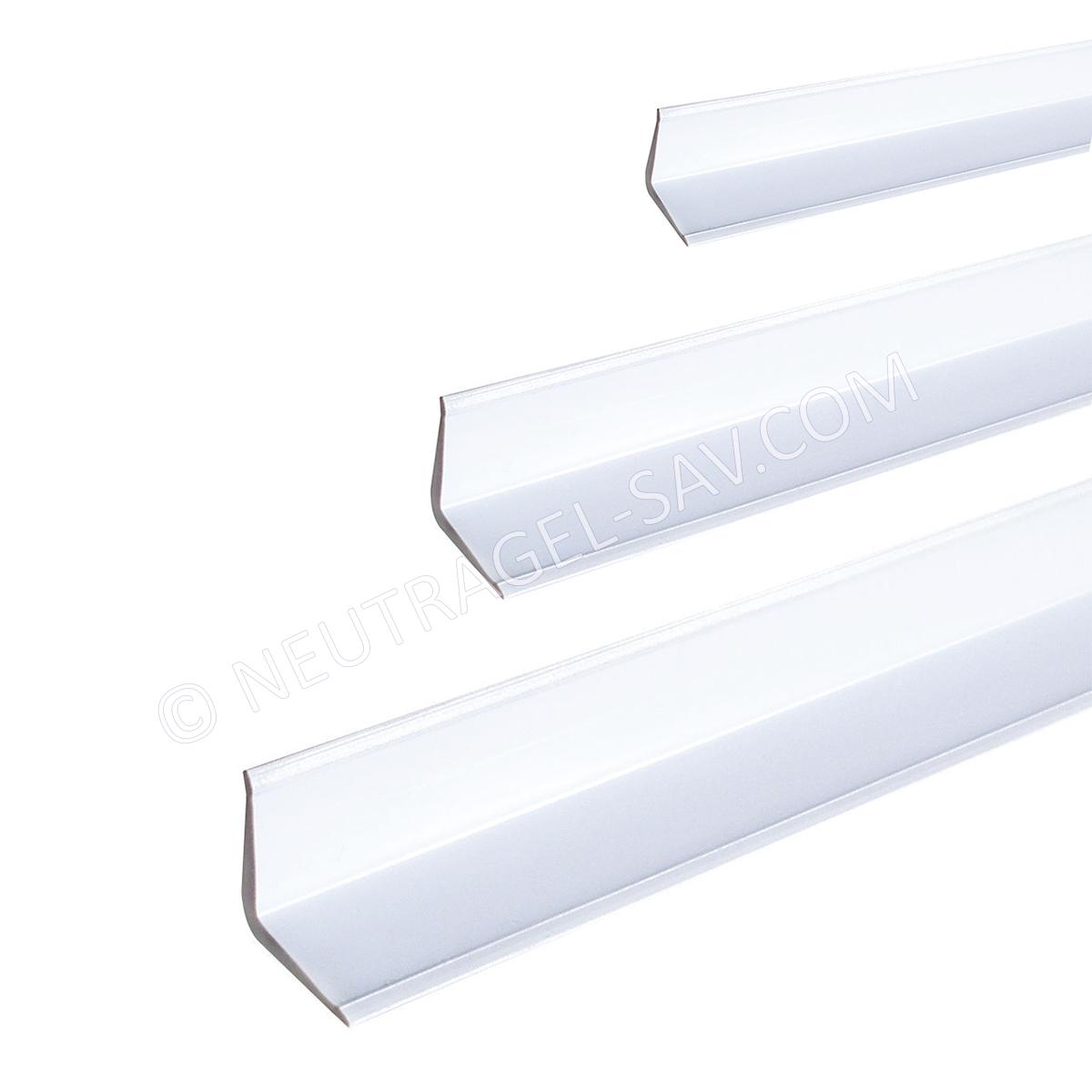 Profile Corniere Dhabillage Et De Protection En Pvc Blanc Cote