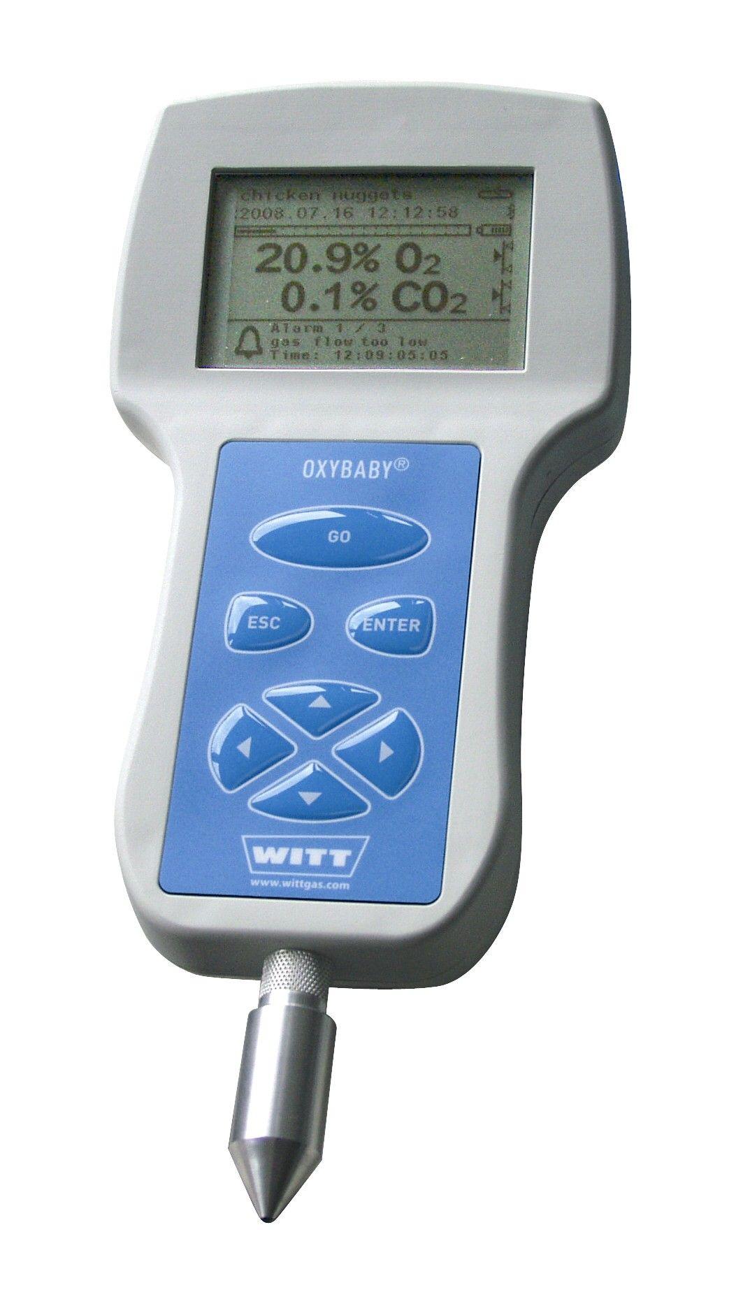 Analyseur de gaz o2 ou o2/co2 oxybaby® 6.0i