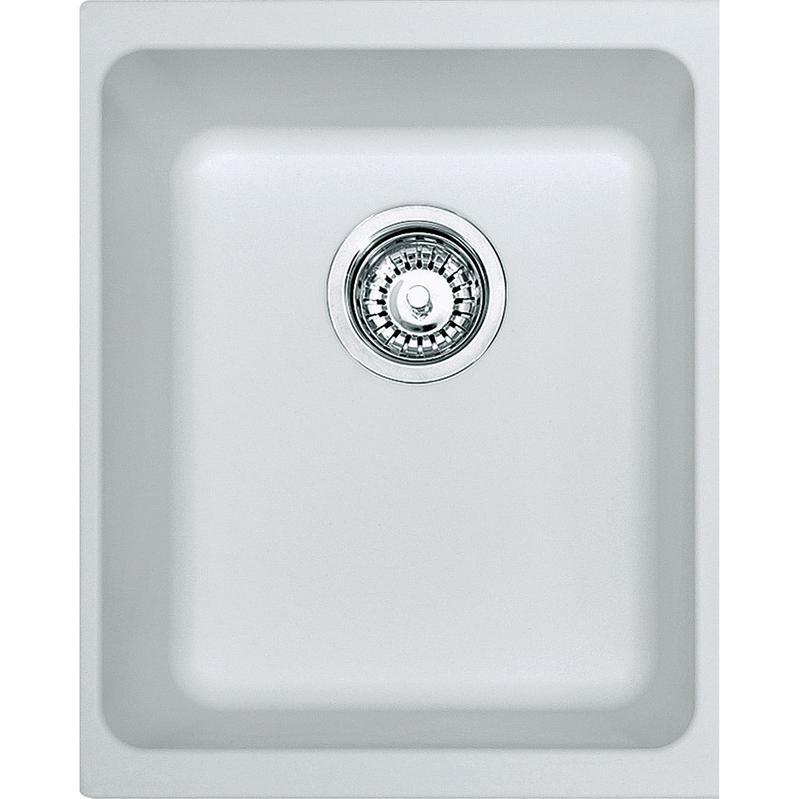 Kubus Kbg 110 34 Fragranit Artic Blanc Evier 125 0176 651