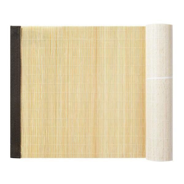 Tapis bambou nature 150 x 30cm - Tapis bambou x ...