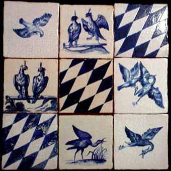 Carrelage Decoratif Mural Delft De10