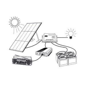 ensemble pour panneau solaire comparez les prix pour. Black Bedroom Furniture Sets. Home Design Ideas