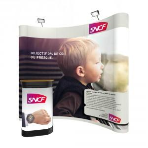 Stand parapluie 3x3 excellence for Stand parapluie 3x3