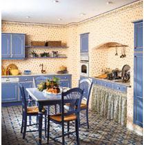 Papiers peints vinyles collection cuisines de maisons de for Papiers peints cuisine vinyle