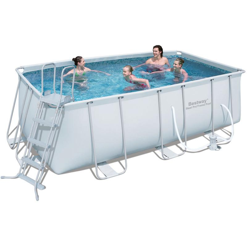 Piscines bestway achat vente de piscines bestway for Prix piscine tubulaire rectangulaire