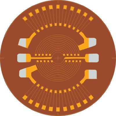 JAUGE DE DÉFORMATION ECF-350-(20)KA-(11)-O-RL 116889 1 PC(S)