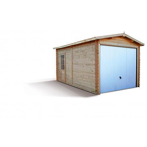 Garage en bois madeira achat vente de garage en bois for Garage bois autoclave