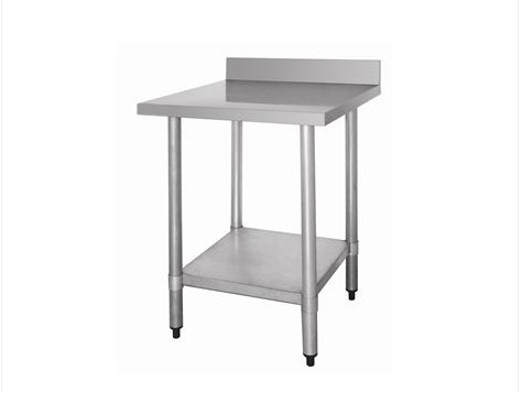 table en inox 60 cm avec rebord. Black Bedroom Furniture Sets. Home Design Ideas