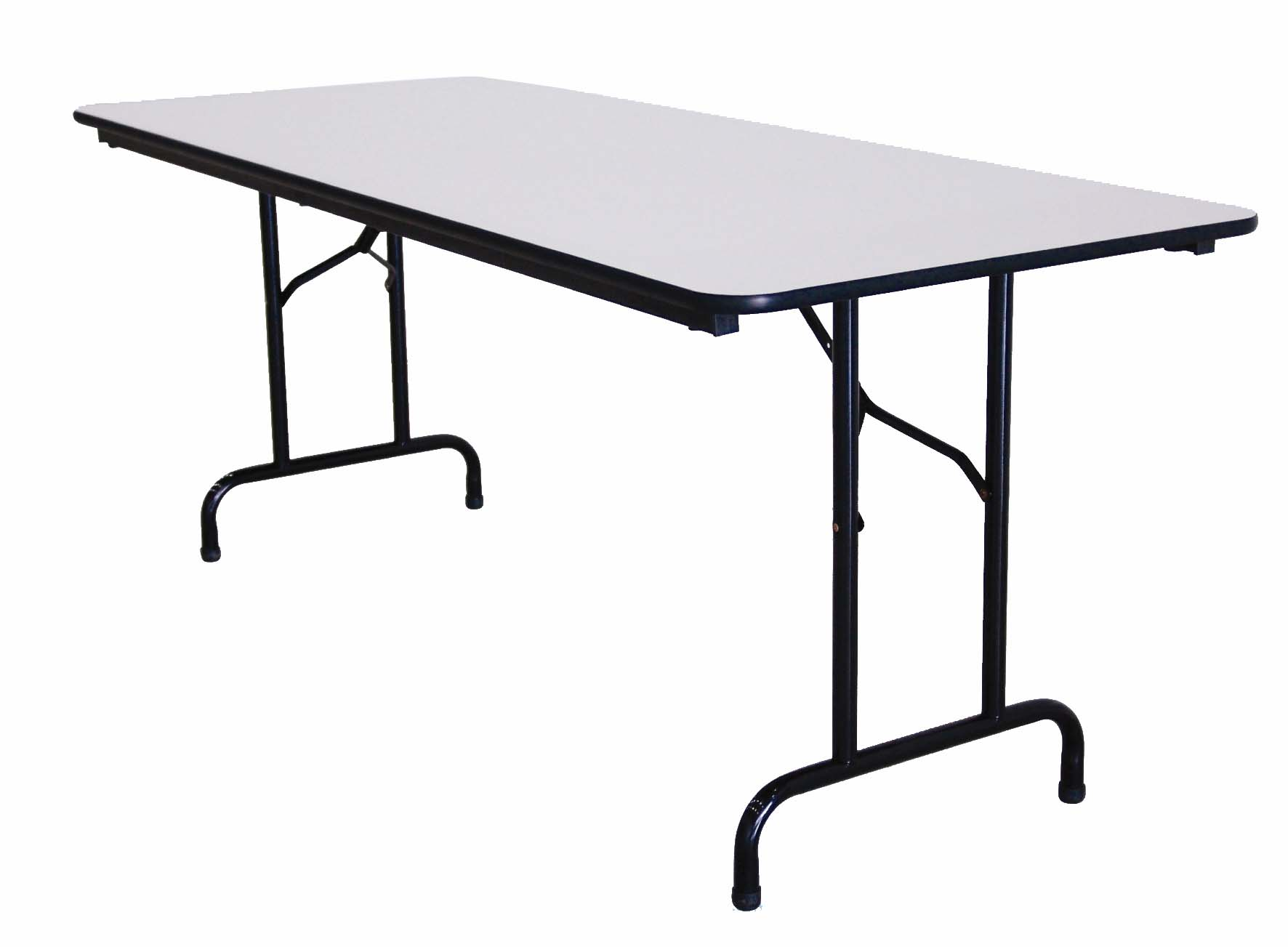 Table pliante finition melaminee 150cm for Table pliante but