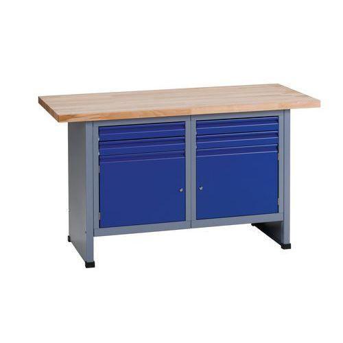 tabli fixe fk 150 avec caisson et tiroirs comparer les prix de tabli fixe fk 150 avec caisson. Black Bedroom Furniture Sets. Home Design Ideas