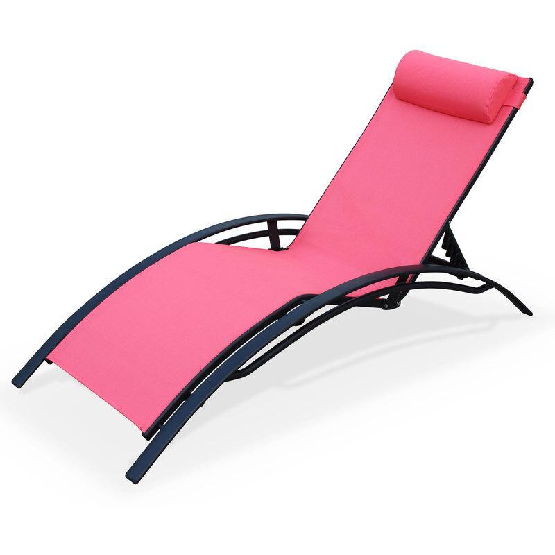 chaise longue en aluminium tous les fournisseurs de. Black Bedroom Furniture Sets. Home Design Ideas