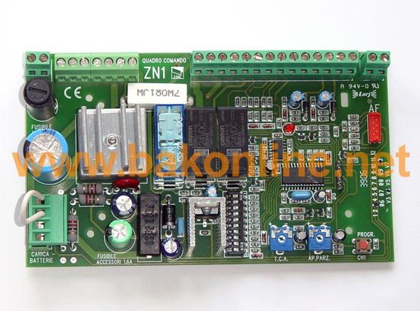 CARTE DE COMMANDE CAME ZN1 - CARTE POUR MOTEUR BZ