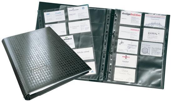 classeurs pour cartes de visite comparez les prix pour professionnels sur page 1. Black Bedroom Furniture Sets. Home Design Ideas