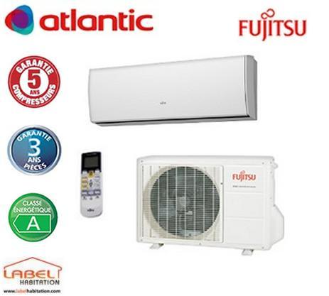 climatisation design atlantic fujitsu asyg 9 lt 817209. Black Bedroom Furniture Sets. Home Design Ideas