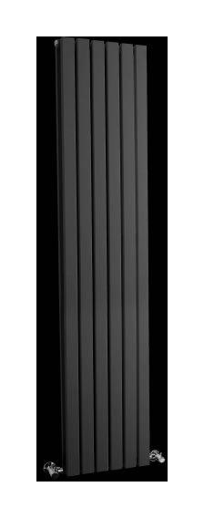 radiateur vertical anthracite sloane 160 x 35 4cm 1700 watts hudson reed comparer les prix de. Black Bedroom Furniture Sets. Home Design Ideas