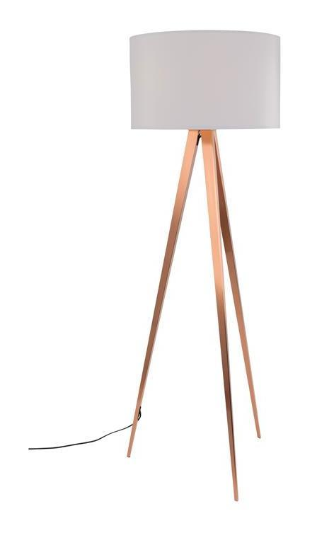 Zuiver Lampadaire Lampadaire Zuiver Tripod Copper With Zuiver