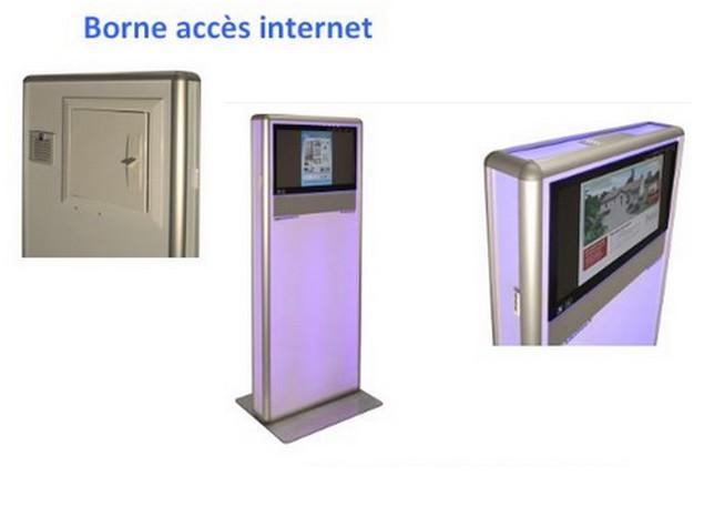 Futurinov produits de la categorie ecrans tactiles for Borne tactile exterieur