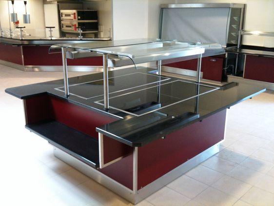 Arcometal produits buffet et vitrine chauffant for Buffet et vitrine