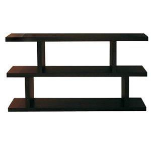 step bibliotheque etagere design wenge pm petit modele. Black Bedroom Furniture Sets. Home Design Ideas