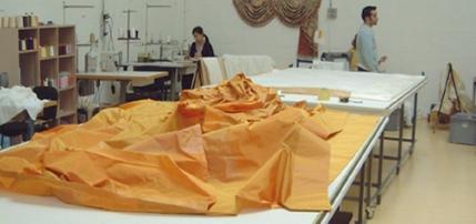Table de coupe couture pour rideauxet store