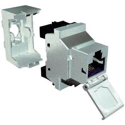 connecteur rj45 blindee cem 360 embase femelle metal cat. Black Bedroom Furniture Sets. Home Design Ideas