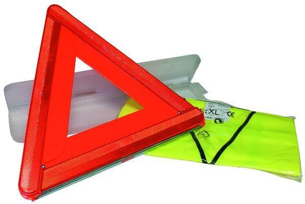kit de securite triangle gilet fluo xl comparer les prix de kit de securite triangle gilet fluo. Black Bedroom Furniture Sets. Home Design Ideas
