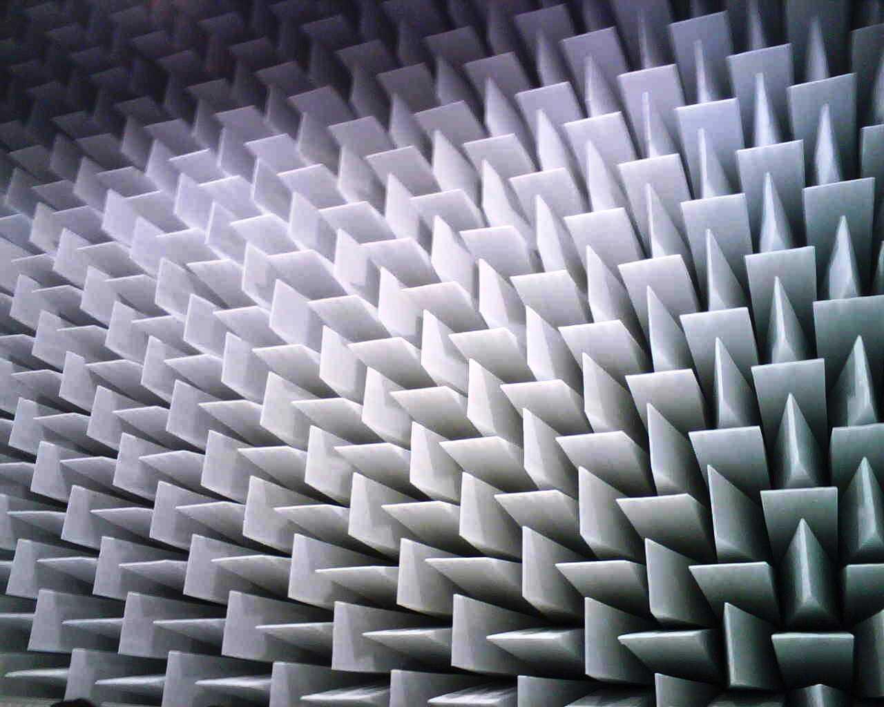 Banc de test acoustique - chambres anechoïques (full - semi)