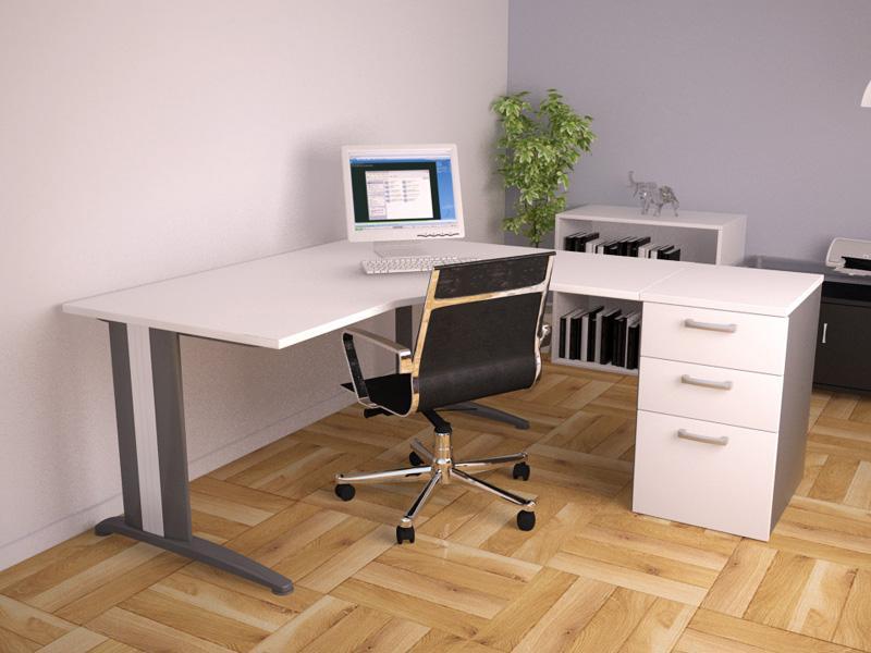 Bureau droit tiroirs tous les fournisseurs de bureau for Fournisseur bureau pro