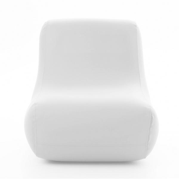 FAUTEUIL GONFLABLE BLANC