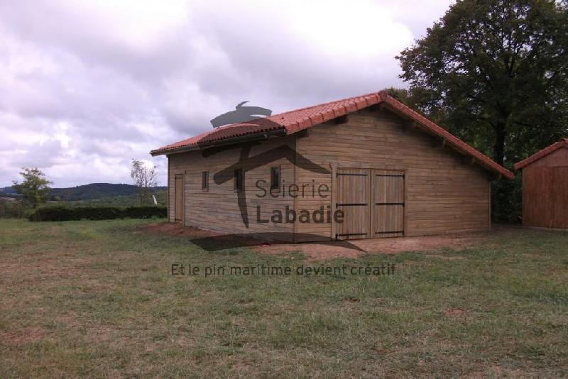 Scierie labadie produits garages et carports en bois for Garage ouvert autour de moi