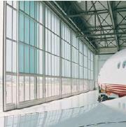 Portes coulissantes industrielles tous les fournisseurs for Porte hangar coulissante
