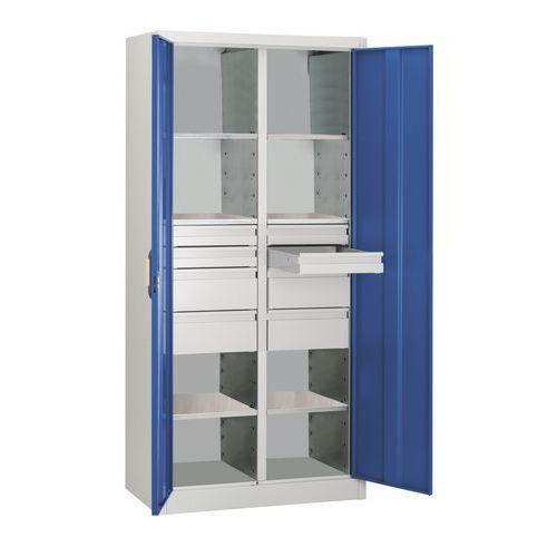 armoire d 39 atelier cp 93 hauteur 195 cm comparer les prix. Black Bedroom Furniture Sets. Home Design Ideas