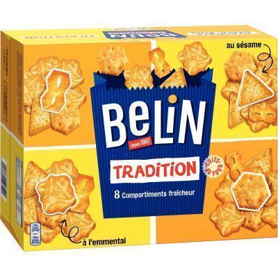 Assortiment de crackers belin tradition 720g