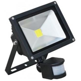 eclairage de chantiers projecteur led 20w detecteur mouvement. Black Bedroom Furniture Sets. Home Design Ideas