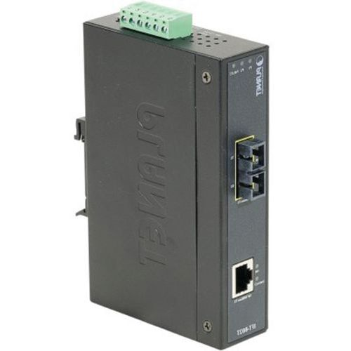 CONVERTISSEUR RJ45/100FX IP30 MULTIMODE SC 2KM -40/75°