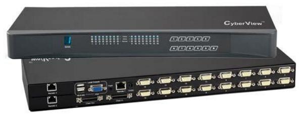 M80X - M160X - COMMUTATEURS KVM MATRICIELS 8 ET 16 PORTS VGA PS2 OU USB 2, 3