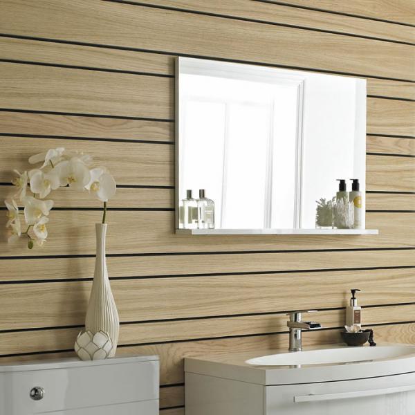 Miroir pour sanitaires hudson reed achat vente de for Miroir salle de bain avec etagere