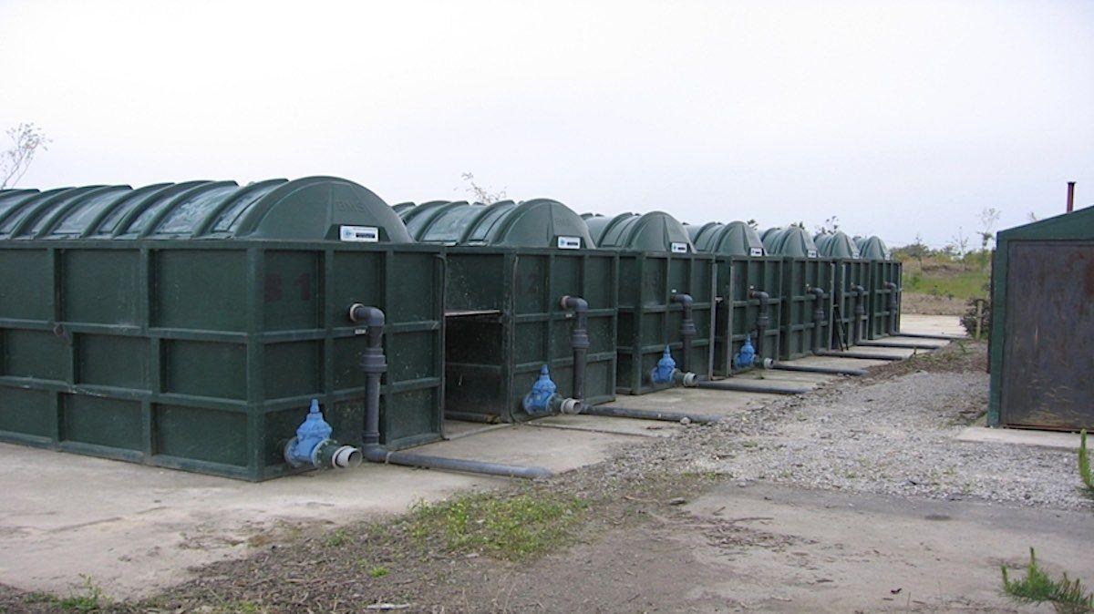 Station d'épuration collective à louer