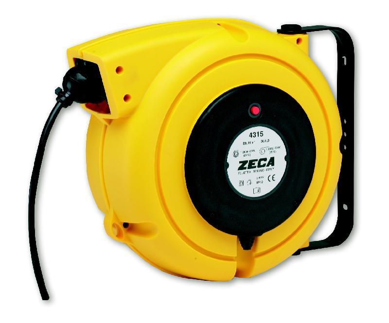 Enrouleur câble électrique 9 m - 4x2,5 mm² zeca 4425