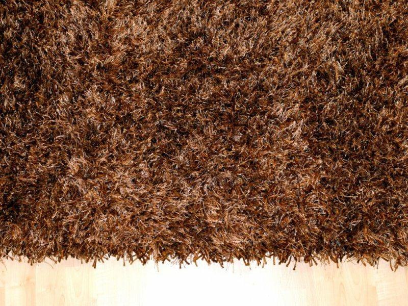 feeling tapis epais marron 200x300 cm. Black Bedroom Furniture Sets. Home Design Ideas