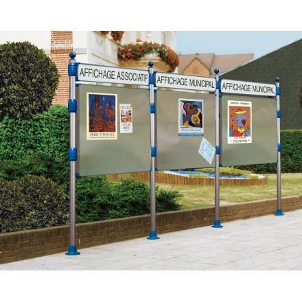 Leader equipements produits de la categorie panneaux d for Panneaux publicitaires exterieur