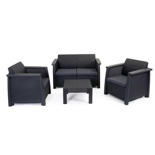 salon de jardin vegas lounge set comparer les prix de salon de jardin vegas lounge set sur. Black Bedroom Furniture Sets. Home Design Ideas