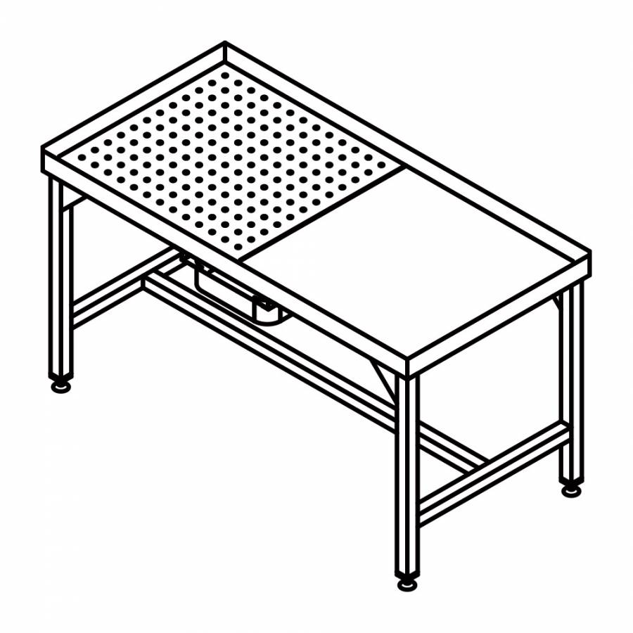 inox de 600 mmREALINOX p 700 Table déssouvidagep mm 345RjLqA